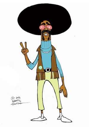 Character from unsold animation project