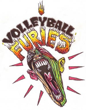 Volleyball Furies (logo)